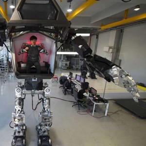 Корейские инженеры создали шагающего робота для экстремальной работы