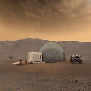 Ученые планируют построить на Марсе ледяные купола
