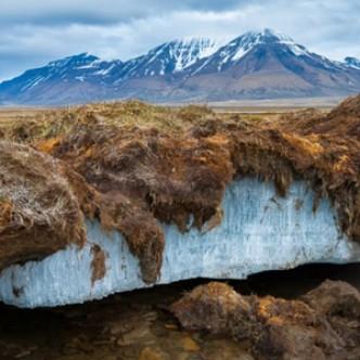 Подводная мерзлота быстро истончается из-за столкновения с айсбергами
