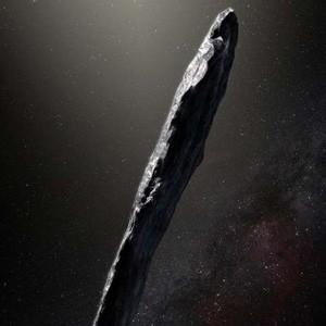 Межзвездный гость — интригующее изображение от ESO