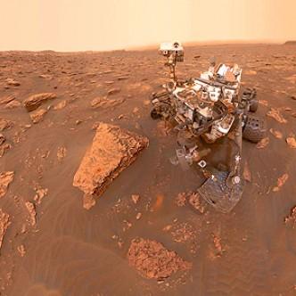 На Марсе начались глобальные песчаные бури