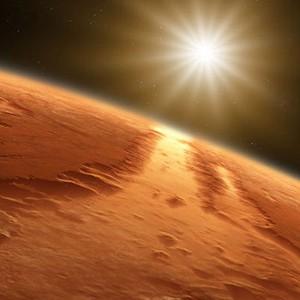 Марс сближается с Землей