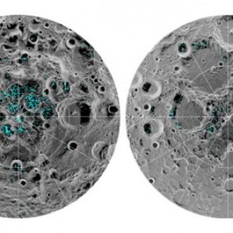 Существование льда на Луне подтверждено