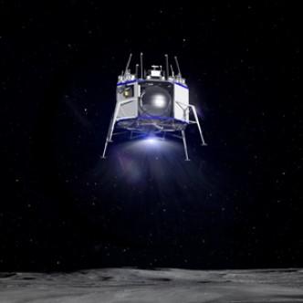 Джефф Безос показал макет космического корабля для высадки на Луну