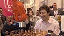 Робот-манипулятор сыграл вничью с чемпионом мира