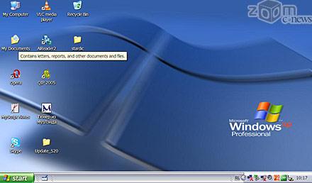 UMPC, работающие под управлением Windows, по пользовательским качествам очень похожи на обычные ноутбуки