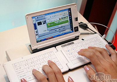 При наличии стабильного подключения к Интернет, UMPC можно использовать для работы с альтернативными настольным веб-приложениями