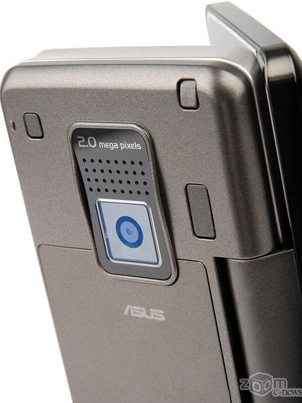 Камера ASUS M930 с разрешением в 2 МП и возможностью макросъемки