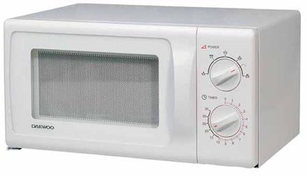 Daewoo <nobr>KOR-4115S</nobr> — <nobr>соло-микроволновка</nobr> «без претензий»