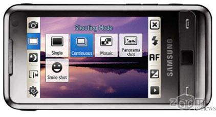 Samsung WiTu работает под управлением операционной системы Windows Mobile 6.1 Professional