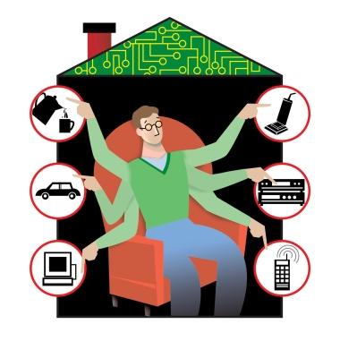 Дом, управляемый мобильным телефоном: необходимость или излишество?