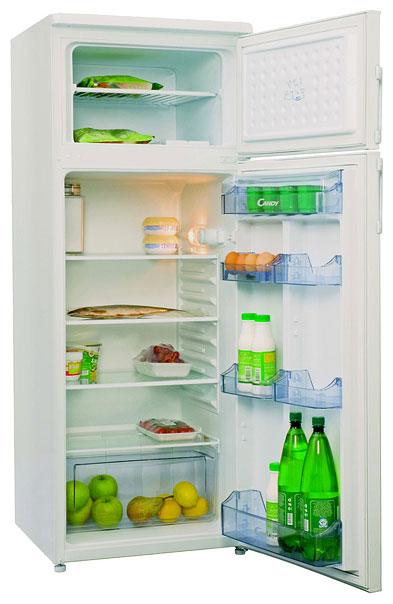 двухкамерный холодильник с