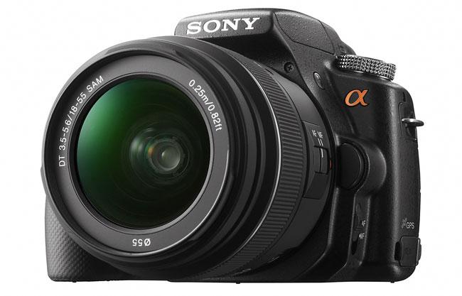 Первый взгляд на Sony Alpha A55: «зеркалка» с фиксированным зеркалом