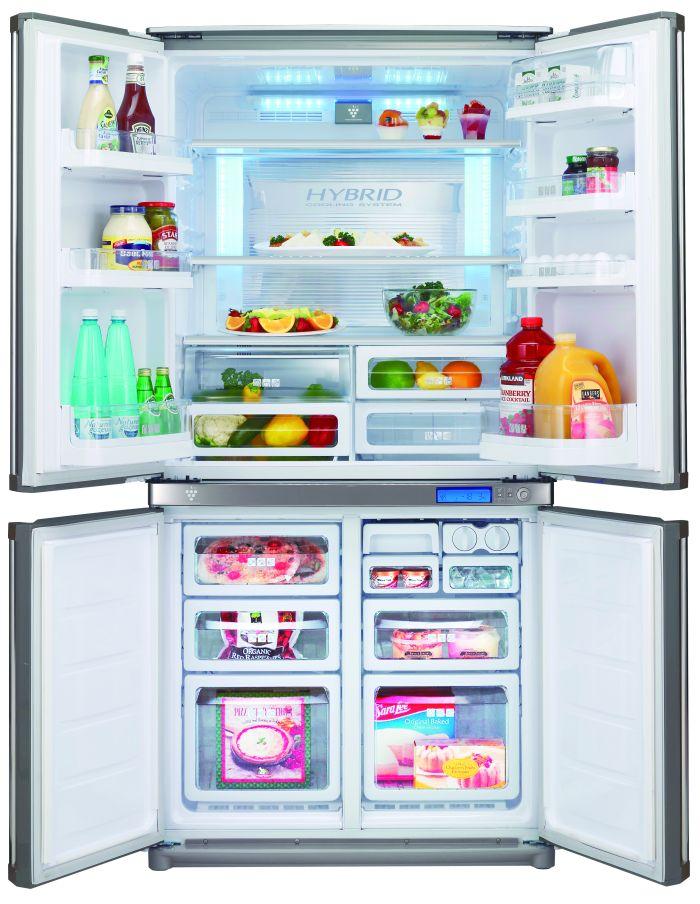 Холодильники с двумя дверями фото