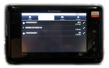 Sony Ericsson покажет Android-планшет и LTE-коммуникатор