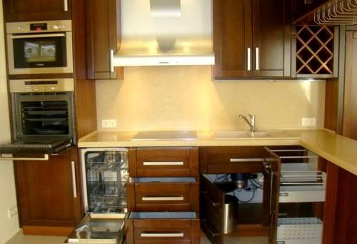 При перепланировке или небольшом редизайне кухни возникает необходимость использования новой встраиваемой техники
