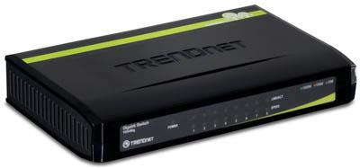 Trendnet спроектировала коммутатор с технологией GREENnet