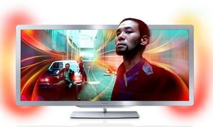 Philips дополнила модельный ряд ЖК-телевизоров устройством Cinema 21:9 Gold