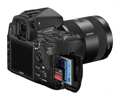 Sony сняла с продажи фотоаппарат Alpha A850