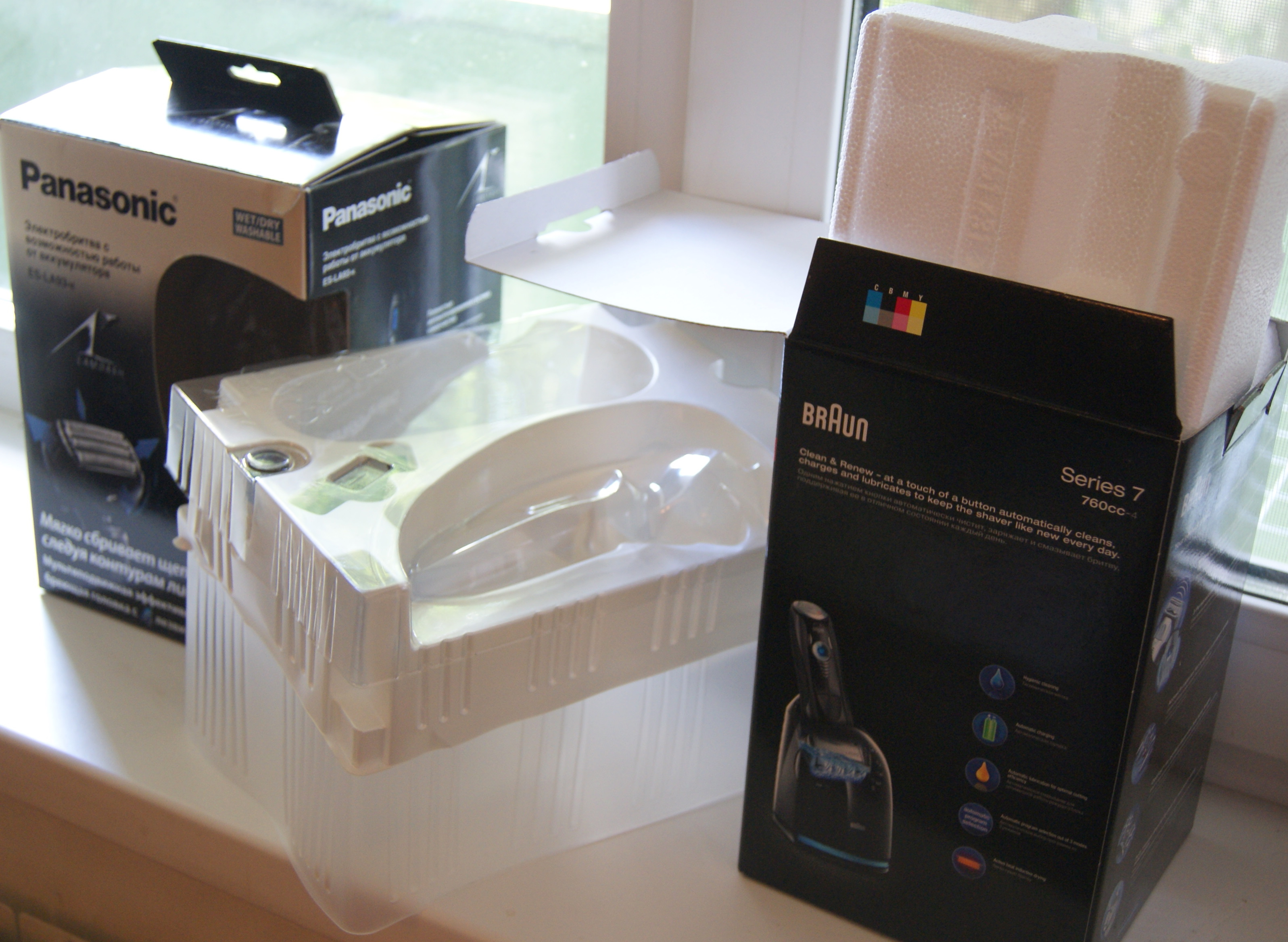 Тест-дуэль лучших электробритв на планете: Panasonic против Braun