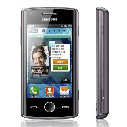 Samsung показала bada-смартфон с NFC-модулем