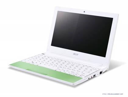 Acer показала второе поколение нетбуков Aspire One Happy 2