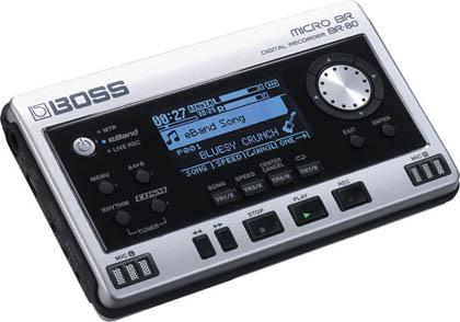 Boss выпустила новый цифровой диктофон для музыкантов