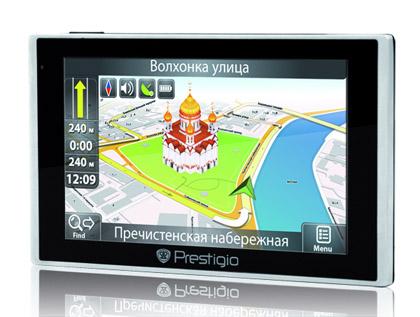 Prestigio начала производство двухсистемного навигатора GeoVision GV5135