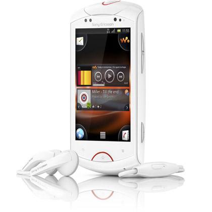 Sony Ericsson анонсировала новый музыкальный «гуглофон» Live with Walkman