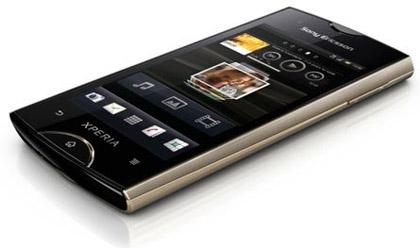 Анонсированы смартфоны Sony Ericsson Xperia Ray и Xperia Active.