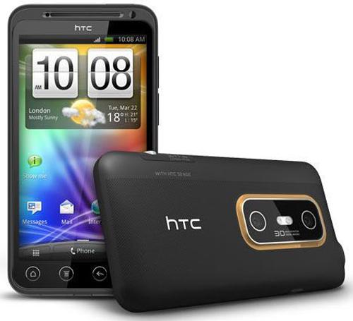 Тест телефона HTC EVO 3D:
