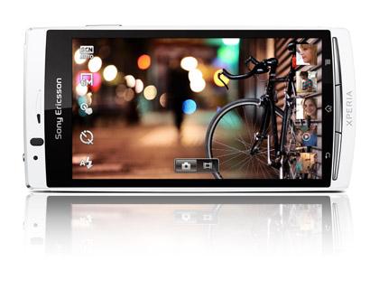 Sony Ericsson официально показала флагманский смартфон Xperia arc S