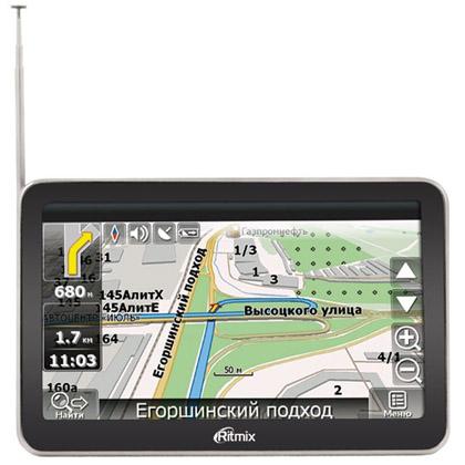 Ritmix показала первый навигатор с ТВ-тюнером RGP-586