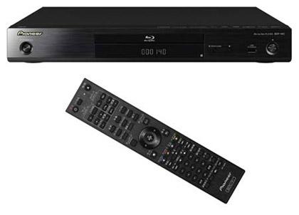 Pioneer объявляет о выпуске 3D Blu-ray проигрывателя BDP-140