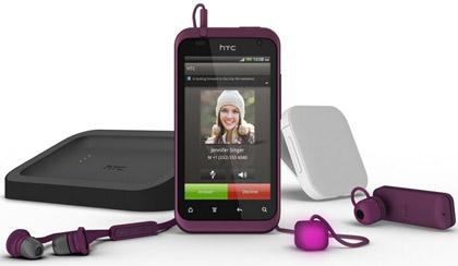 HTC показала новый имиджевый смартфон Rhyme