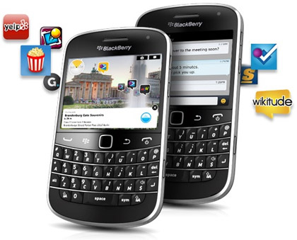 RIM представляет технологию BlackBerry Tag