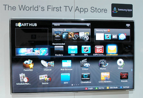 how to delete apps from samsung smart hub