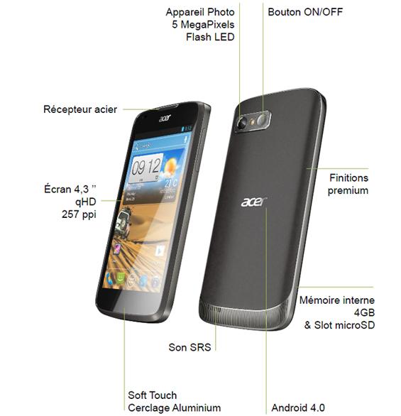 Acer liquid gallant e350 - изображений