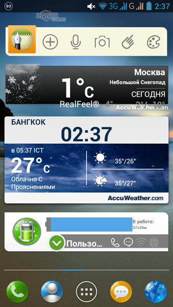 Москва - прогноз погоды на неделю от Гидрометцентра