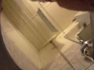 Снимок с камеры смартфона из-под воды