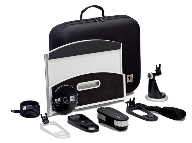Комплект поставки: кейс, измеритель, и аксессуары