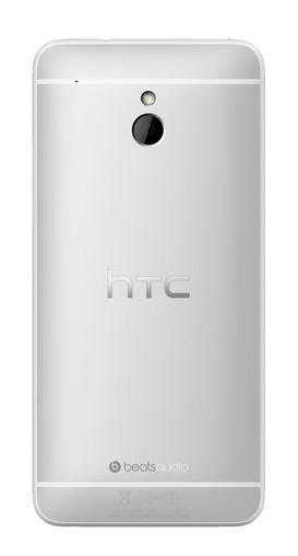 HTC One Mini, вид сзади