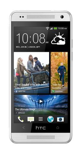 HTC One Mini, вид спереди