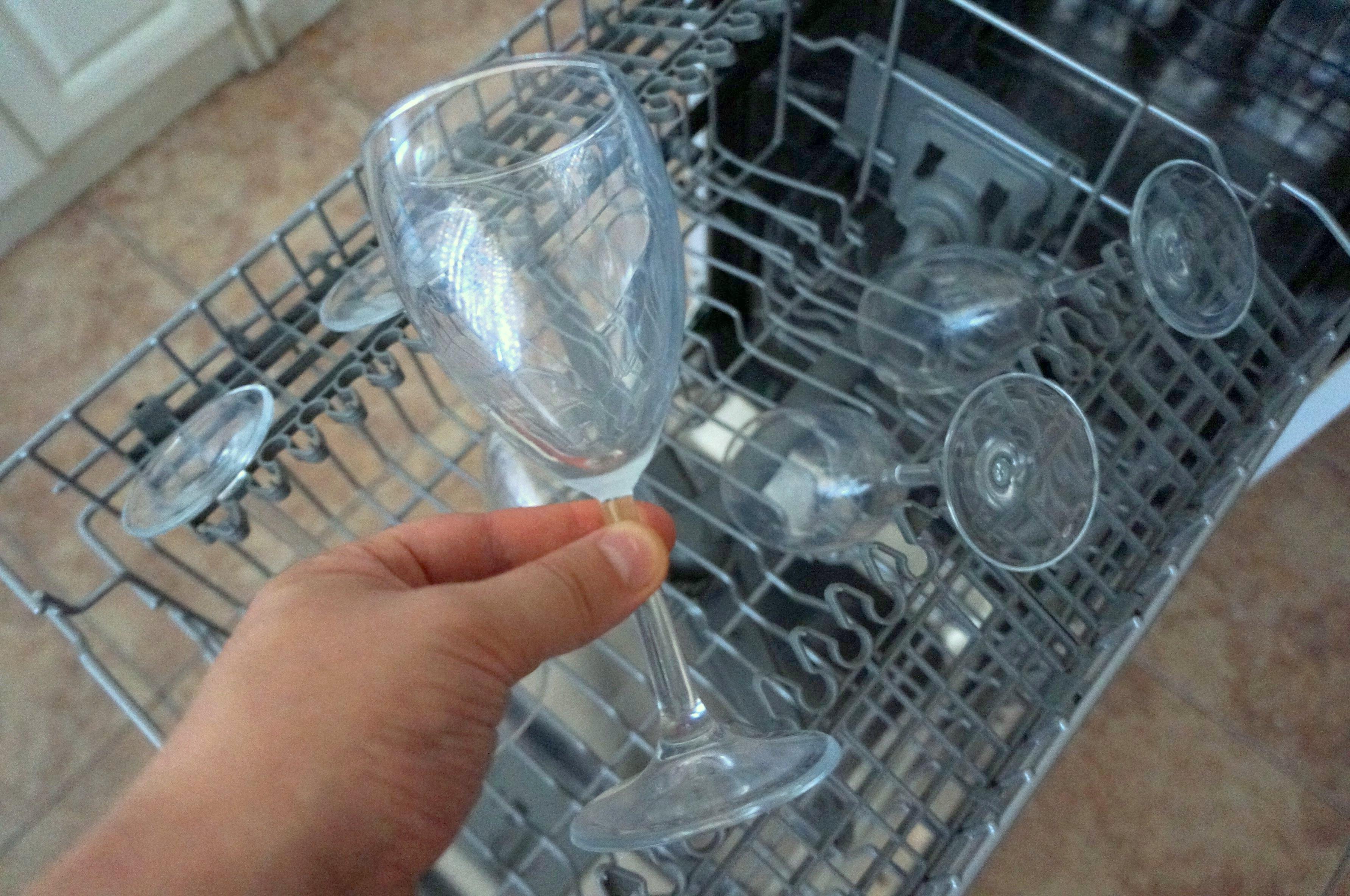 Правила мытья бокалов - полезные советы мытья