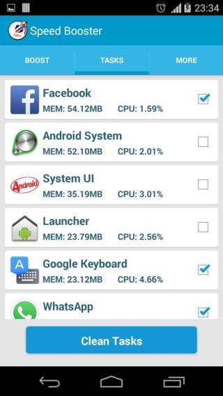Оптимизировать андроид с 512 мб озу