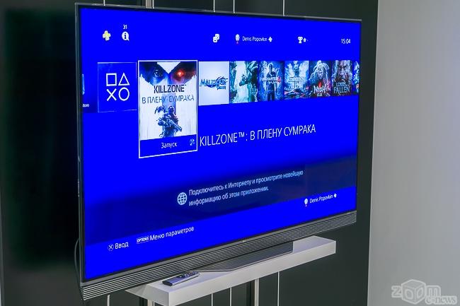 Подключение playstation 4 к 4к телевизору