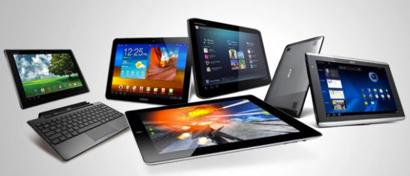 Продажи планшетов в России падают 12 кварталов подряд
