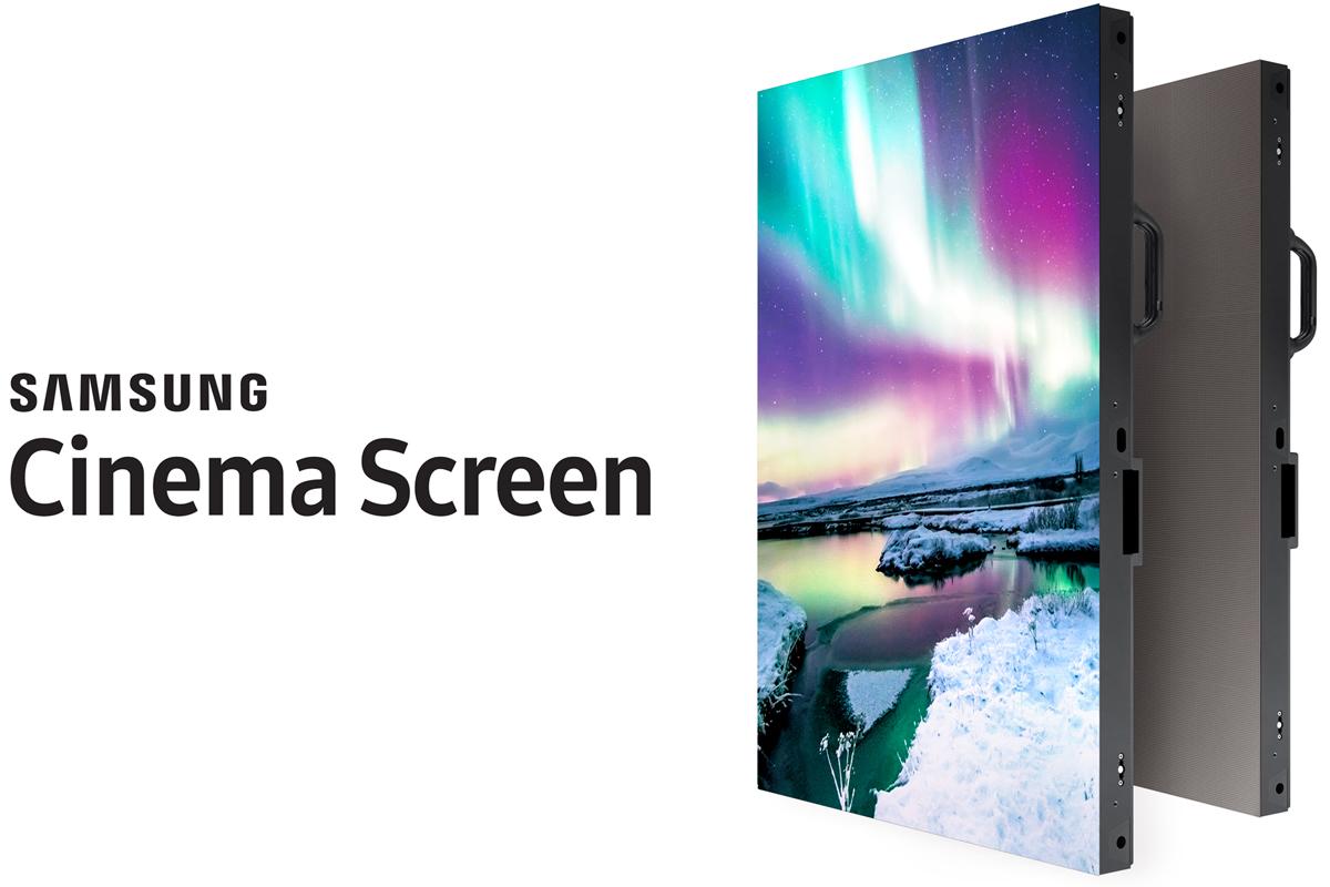 Самсунг представила 34-футовый HDR-дисплей Cinema сразрешением 4K