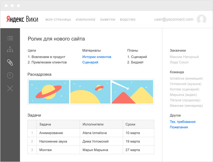 Яндекс выпустил платформу для совместной работы