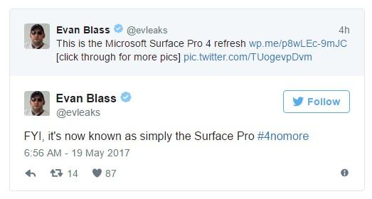 Новые планшеты Microsoft Surface Pro рассекречены еще доанонса